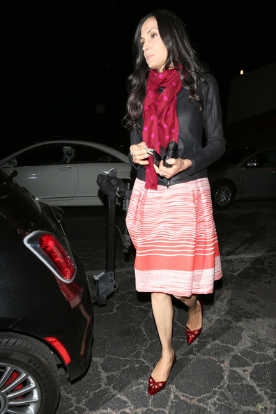 Famke Janssen Shoes