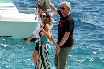 Boris Becker and Wife Lilly Becker ... Vacationing in Style