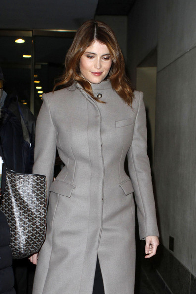 More Pics of Gemma Arterton Wool Coat (3 of 7) - Gemma Arterton Lookbook - StyleBistro