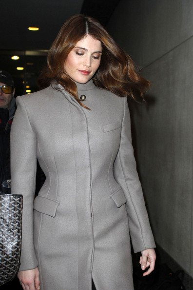 More Pics of Gemma Arterton Wool Coat (2 of 7) - Gemma Arterton Lookbook - StyleBistro