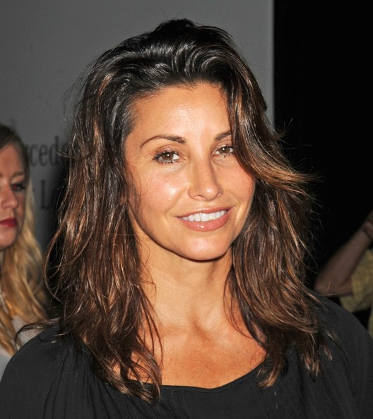 Gina Gershon Medium Layered Cut