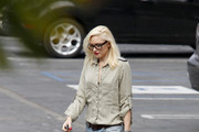 Gwen Stefani Button Down Shirt