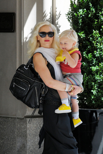 Gwen Stefani Leather Shoulder Bag