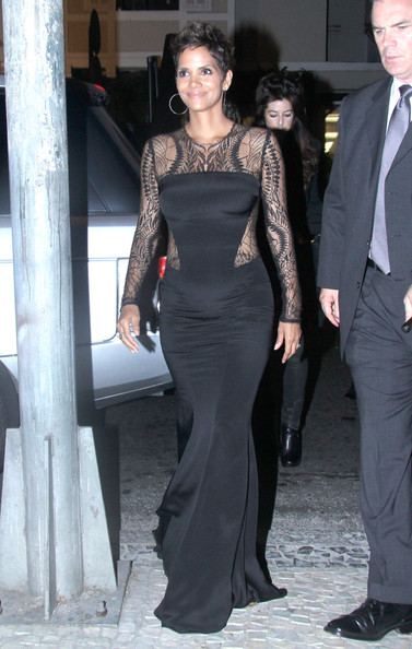 Halle Berry Evening Dress