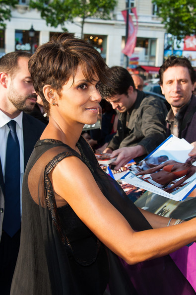 More Pics of Halle Berry Pixie (4 of 8) - Short Hairstyles Lookbook - StyleBistro