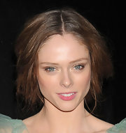 Coco Rocha swept on a sheer layer of metallic gold and bronze shadows for the 9th annual spring dinner dance in NYC.