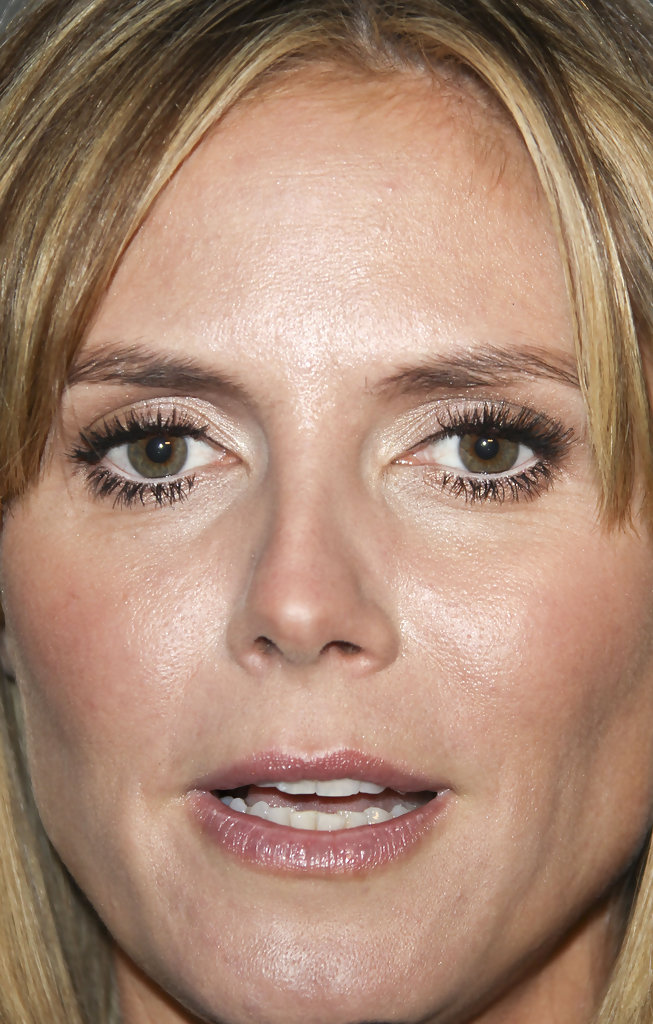 Heidi Klum Neutral Eyeshadow Heidi Klum Makeup Looks