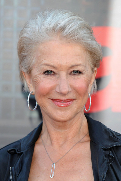 Helen Mirren Short Straight Cut