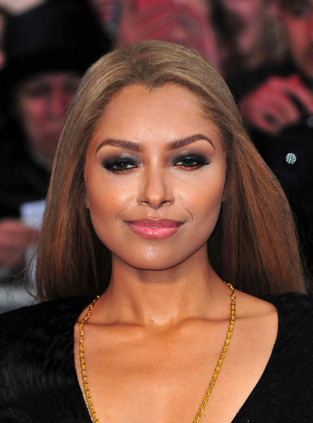 Kat's pouts looked super supple and alluring with a swipe of clear lip gloss.