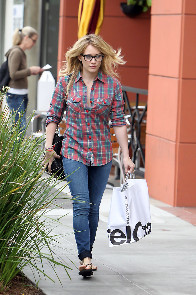 Hilary Duff Button Down Shirt Hilary Duff Looks