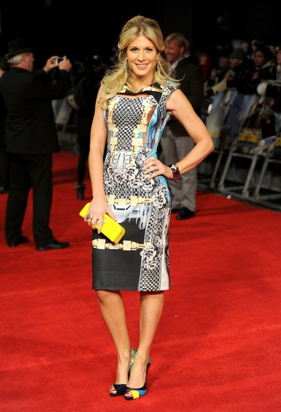 Stars at the UK Premiere of 'The Last Stand'