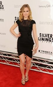 Julia looked chic in this LBD at the 'Silver Linings Playbook' premiere.
