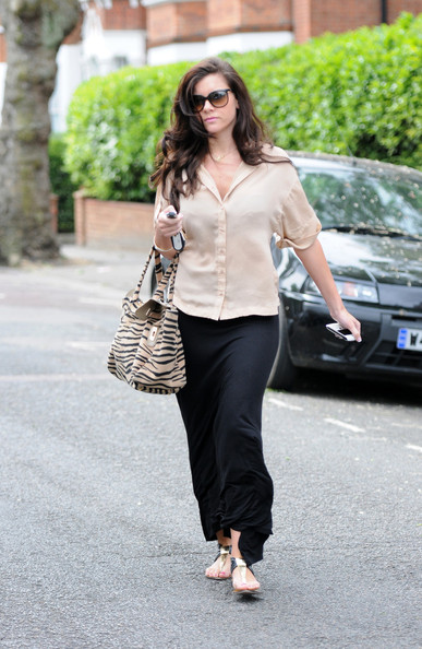 Imogen Thomas Long Wavy Cut