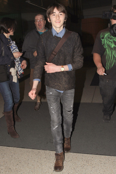 Isaac Hempstead Wright Ripped Jeans