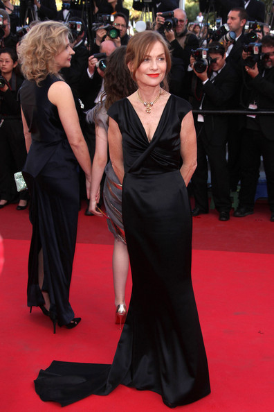 Isabelle Huppert Fishtail Dress