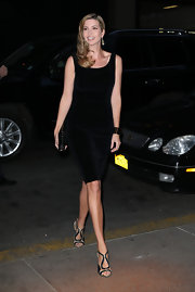 Ivanka Trump sported a basic little black dress for her night out in New York.
