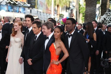 Jada Pinkett Smith Jessica Chastain Stars at the 'Madagascar 3' Premiere in Cannes