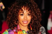 Jade Ewen Medium Curls with Bangs