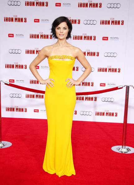 Jaimie Alexander Strapless Dress