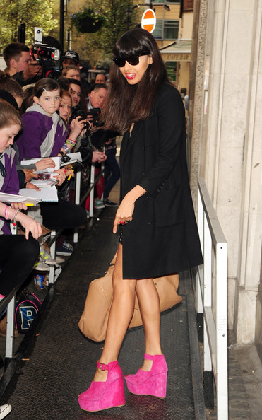 Jameela Jamil Wedges