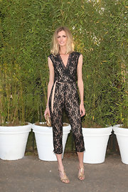 Jacquetta's lace jumpsuit had a fun and flirty vibe at the Serpentine Gallery Summer Party.