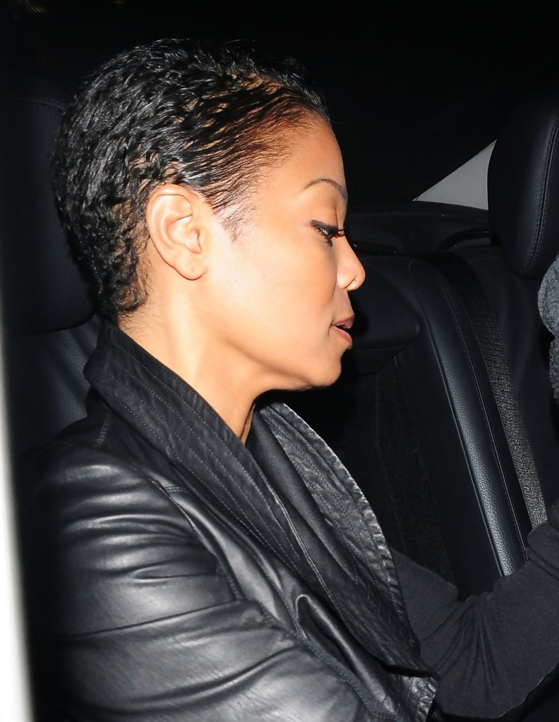 Janet Was Almost Unrecognizable With An All New Hairstyle The Popstar S Wavy Locks Were Completely