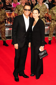 Jean-Claude Van Damme opted for a classic black-and-white ensemble at the premiere of 'The Expendables 2.'