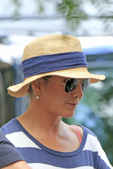 Jennifer Aniston Straw Hat