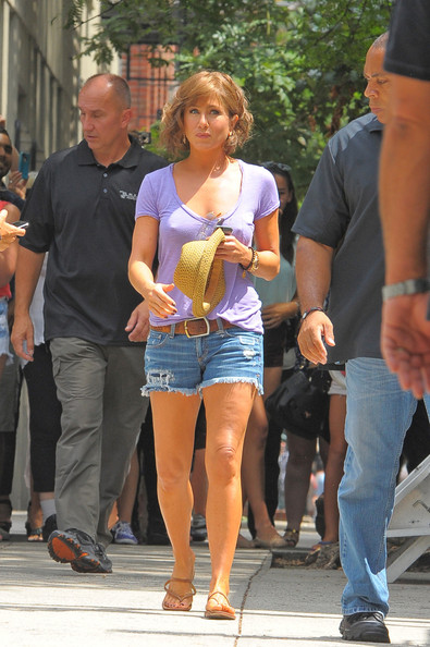 Jennifer Aniston Jean Shorts