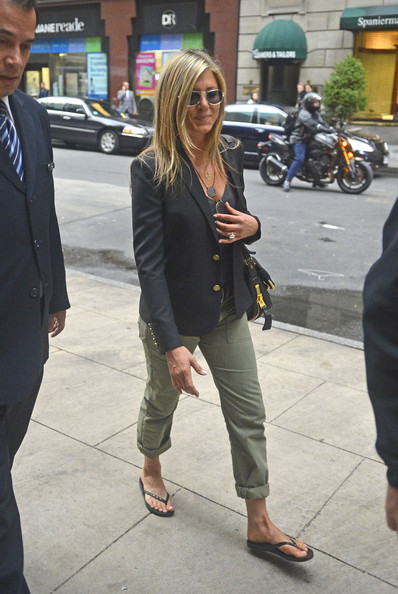 More Pics of Jennifer Aniston Blazer (3 of 7) - Jennifer Aniston Lookbook - StyleBistro