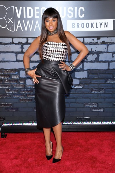 Jennifer Hudson Knee Length Skirt