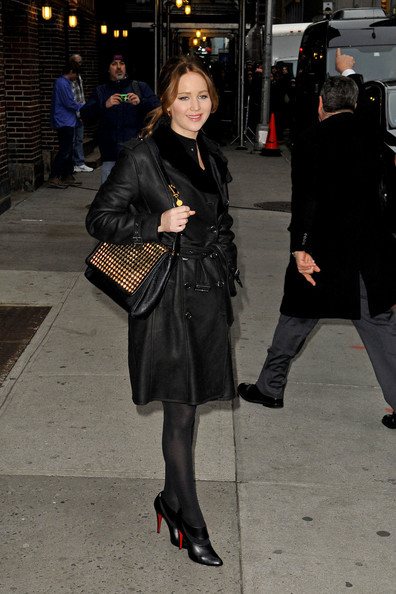 More Pics of Jennifer Lawrence Ankle Boots (5 of 10) - Ankle Boots Lookbook - StyleBistro