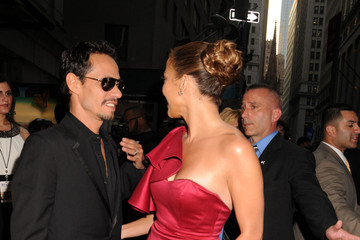 Jennifer Lopez Marc Anthony Red Carpet at the Samsung Hope for Children Gala