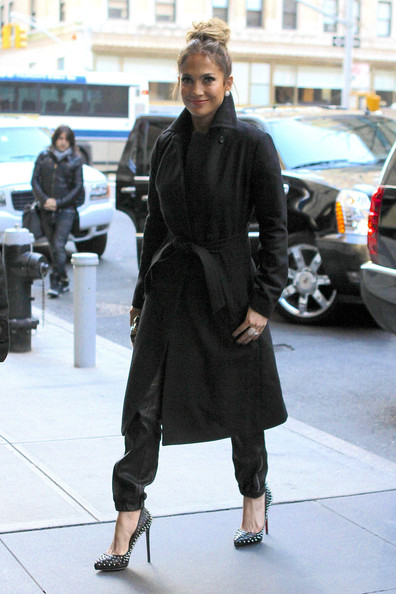More Pics of Jennifer Lopez Wool Coat (1 of 15) - Wool Coat Lookbook - StyleBistro