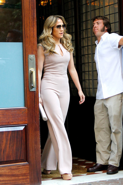 More Pics of Jennifer Lopez Jumpsuit (1 of 12) - Jumpsuit Lookbook - StyleBistro