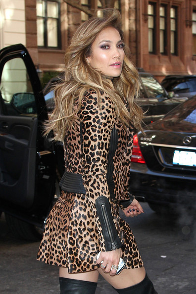 More Pics of Jennifer Lopez Over the Knee Boots (5 of 15) - Over the Knee Boots Lookbook - StyleBistro