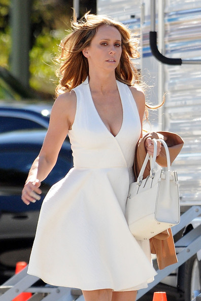 Jennifer Love Hewitt Leather Tote