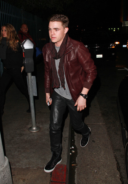 Jesse McCartney Leather Band Quartz Watch