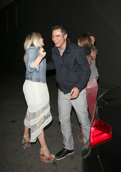 Jessiac Alba Out on a Date with Cash Warren