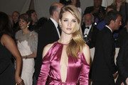 Rosie Huntington-Whiteley at the annual Costume Institute Gala in New York, celebrating the exhibition of