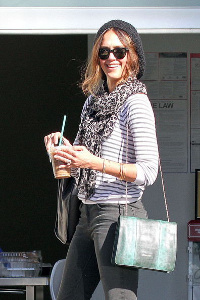 Jessica Alba Out in LA
