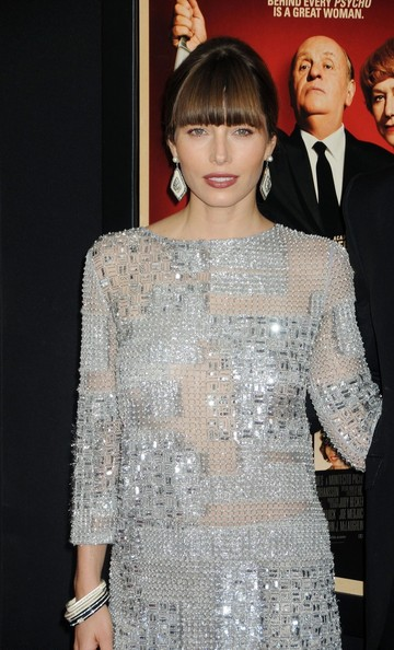 More Pics of Jessica Biel Fitted Blouse (5 of 24) - Jessica Biel Lookbook - StyleBistro