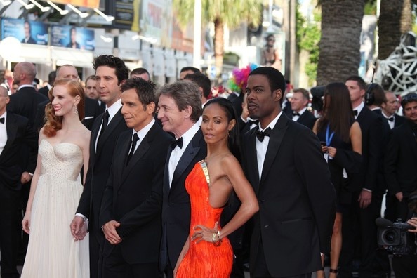 Stars at the 'Madagascar 3' Premiere in Cannes