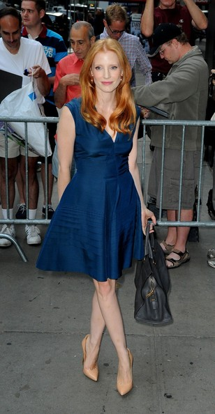Jessica Chastain Cocktail Dress