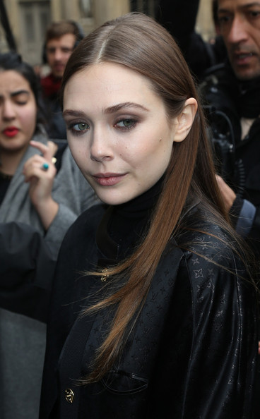 More Pics of Elizabeth Olsen Nude Lipstick (5 of 5) - Nude Lipstick Lookbook - StyleBistro