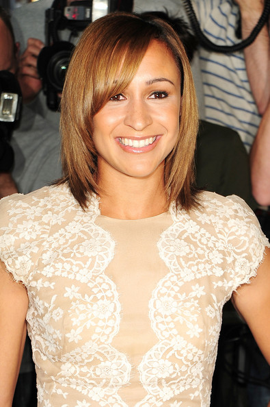 Jessica Ennis Medium Layered Cut