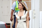 AnnaLynne McCord is seen having fun on the