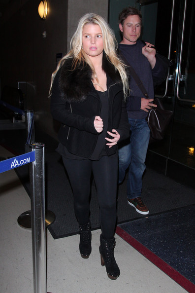 Jessica Simpson Lace Up Boots