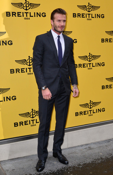More Pics of David Beckham Men's Suit (5 of 5) - David Beckham Lookbook - StyleBistro