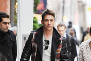 Jonathan Rhys Meyers Leather Jacket